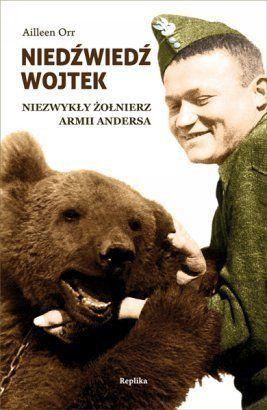 """""""Autorką książki jest Aileen Orr, założycielka fundacji """"The Wojtek Memorial Trust"""", która prowadzi akcję na rzecz postawienia Wojtkowi pomnika w Szkocji. """" http://debiutext.co.pl/20209,niedzwiedz-wojtek-niezwykly-zolnierz-armii-andersa-recenzja.html"""