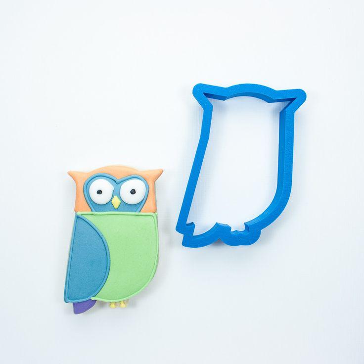 Modern Owl Cookie Cutter