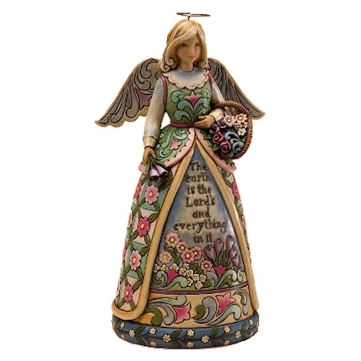 Jim Shore Garden Angel figurine ~ love this