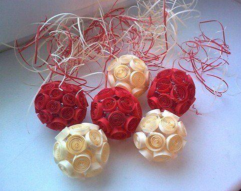 Gallery.ru / Фото #1 - Самодельные шары для украшения интерьера - Secunda