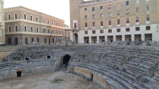 Anfiteatro Romano in Lecce, Puglia