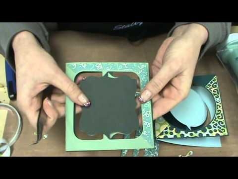 ▶ #89 Karen Burniston & Elizabeth Crafts Pop It Ups dies for CHA 2014 by Scrapbooking Made Simple - YouTube