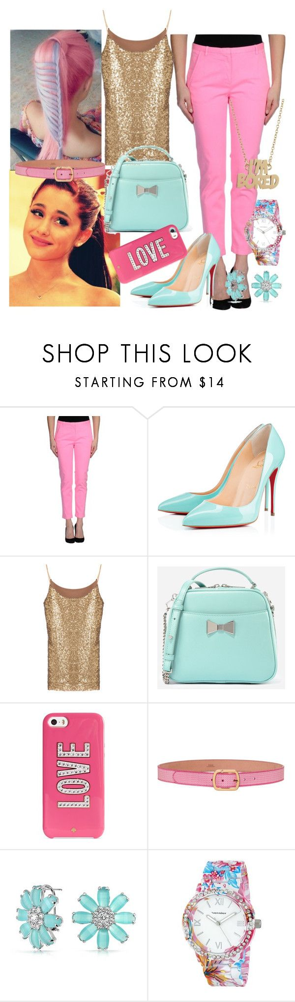 """""""Untitled #175"""" by sara-bitch1 ❤ liked on Polyvore featuring ..,MERCI, CHARLES & KEITH, Kate Spade, Fendi, Bling Jewelry, Vernier and Marc by Marc Jacobs"""