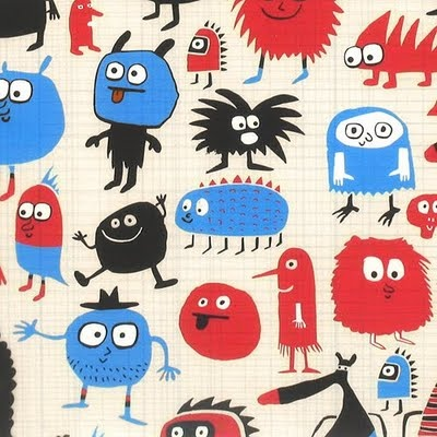 love these little monsters - paperchase