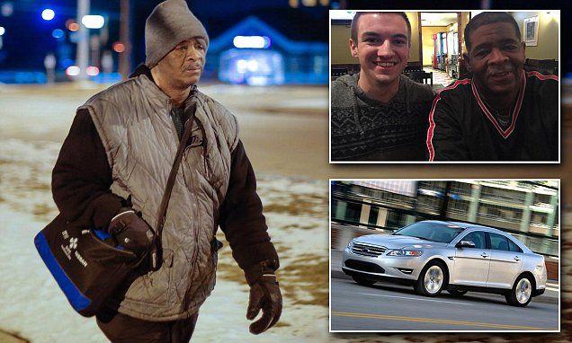 Man Walks  Miles  Way To Work Gets Car