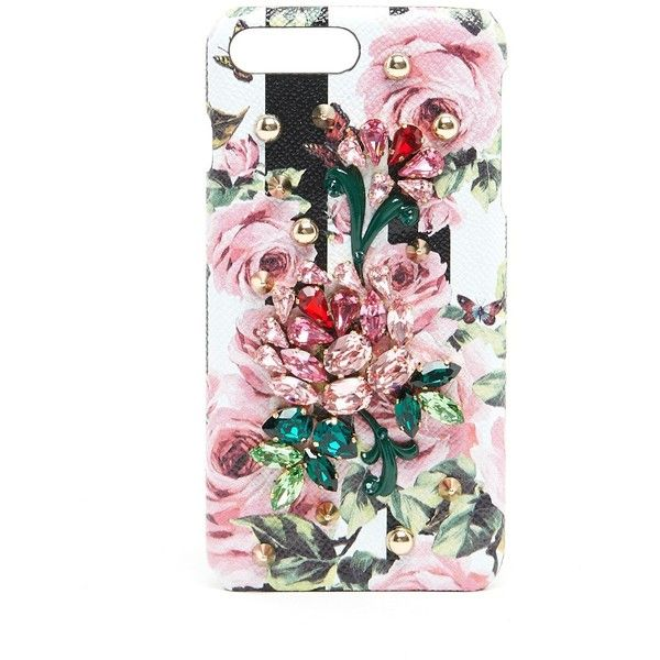 7a9b4422b117 DOLCE   GABBANA Printed I-Phone 7 Plus Case With Jewel Applications (795  CAD. Phone 7Tech Accessories