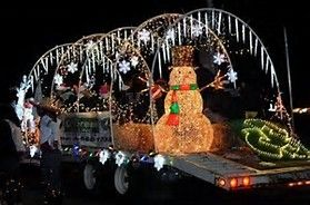 lighted christmas parade float ideas - Bing images                                                                                                                                                                                 More