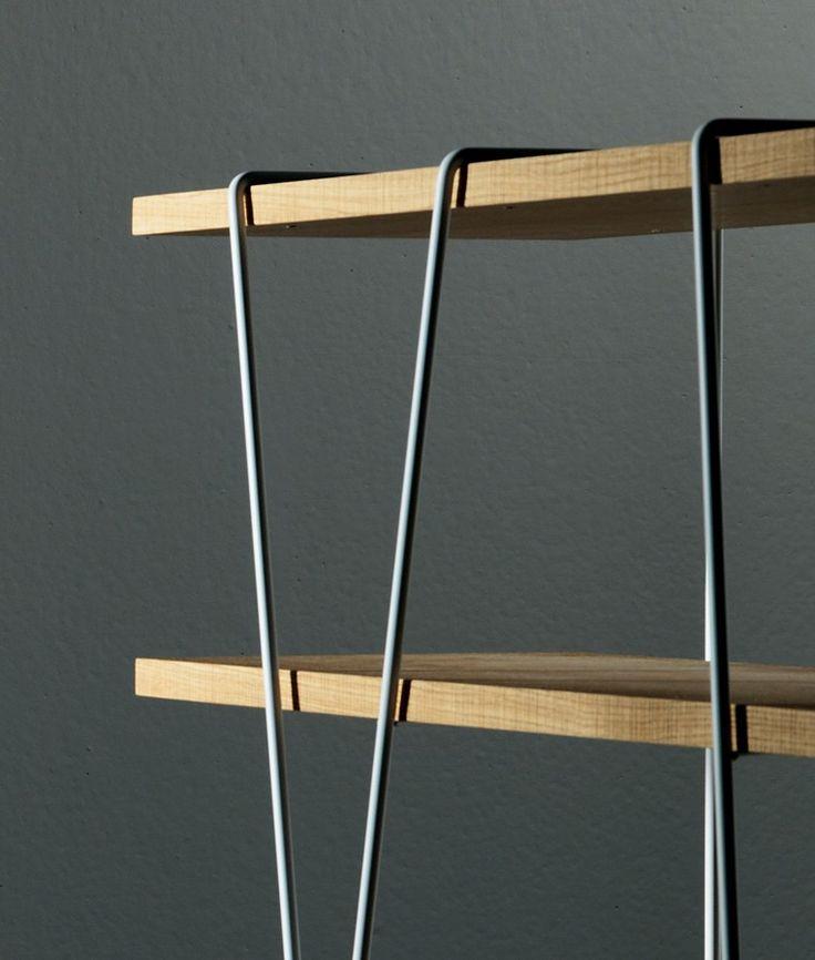 matassa Bookshelf - Miniforms #bookshelves