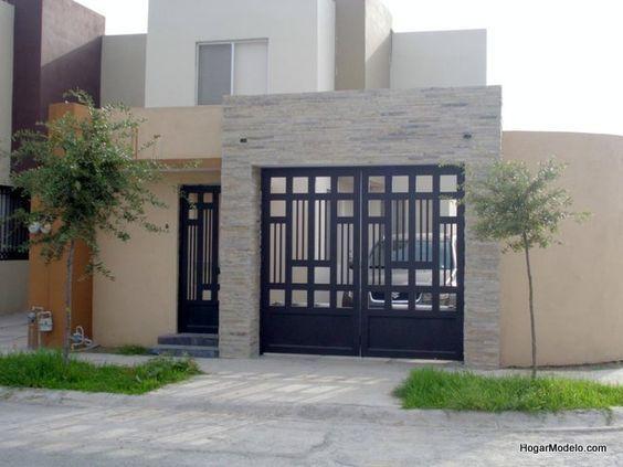 M s de 25 ideas incre bles sobre portones minimalistas en for Puertas correderas diseno moderno