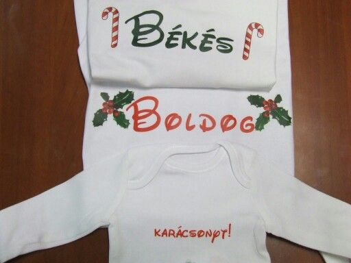 Karácsonyra készült családi pólók
