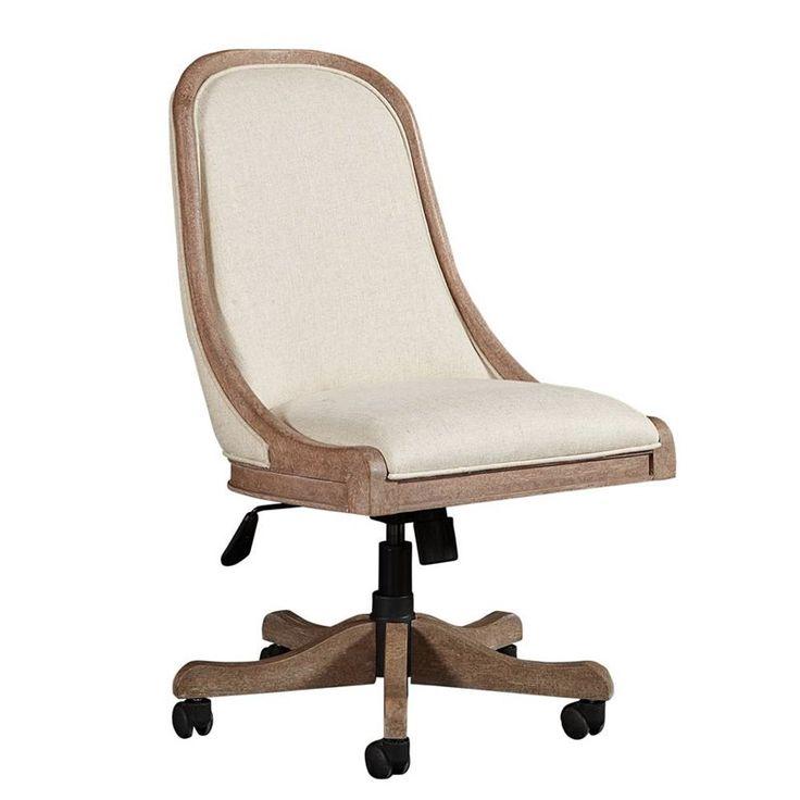 Wethersfield Estate Desk Chair In Brimfield Oak Home Office Furniture