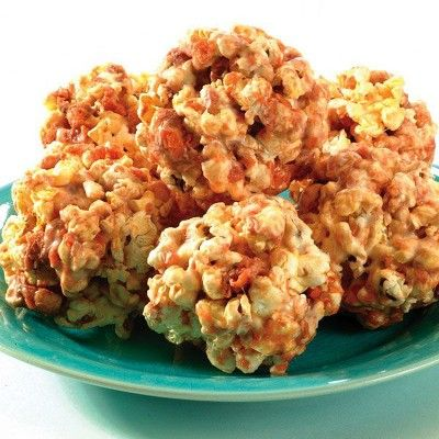 Butterfinger Popcorn Balls Recipe : Target Recipes