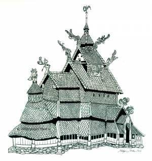 Borgund Stavkirke