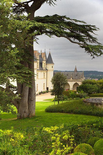 Chateau d'Amboise - Loire - France (Lieu de décès de Léonard de Vinci)