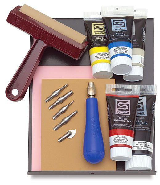 Speedball Deluxe Block Printing Kit - BLICK art materials