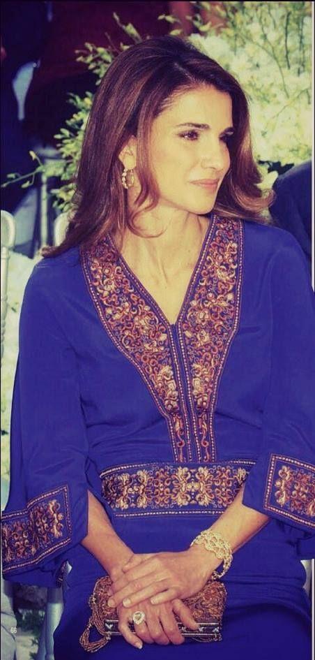 ♔♛Queen Rania of Jordan♔♛......Attending wedding of Princess Ayah.
