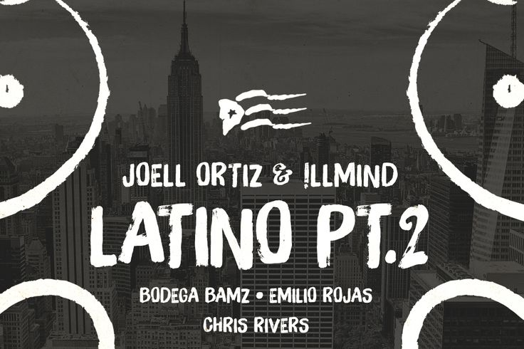 JOELL ORTIZ & !LLMIND – LATINO PT. 2 - Brooklyn MC, Joell Ortiz, returns with his newest collaborative release, Human, with producer !LLMIND, due out July 17.