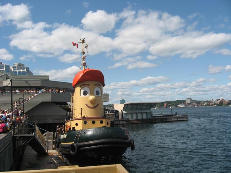 Tug boat in Halifax Harbor, Nova Scotia