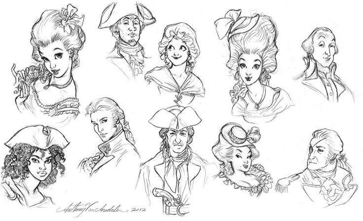 Anthony VanArsdale - Art and Illustration: Small collection of afterwork sketches