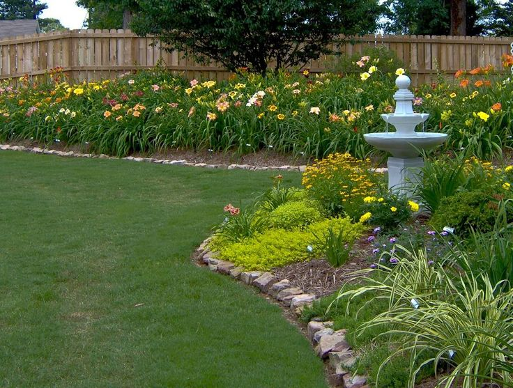 Daylily garden - so easy to grow!