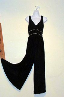 Fabulous Vintage 1970's Palazzo Velvet Beaded by BeauMondeVintage, $48.00