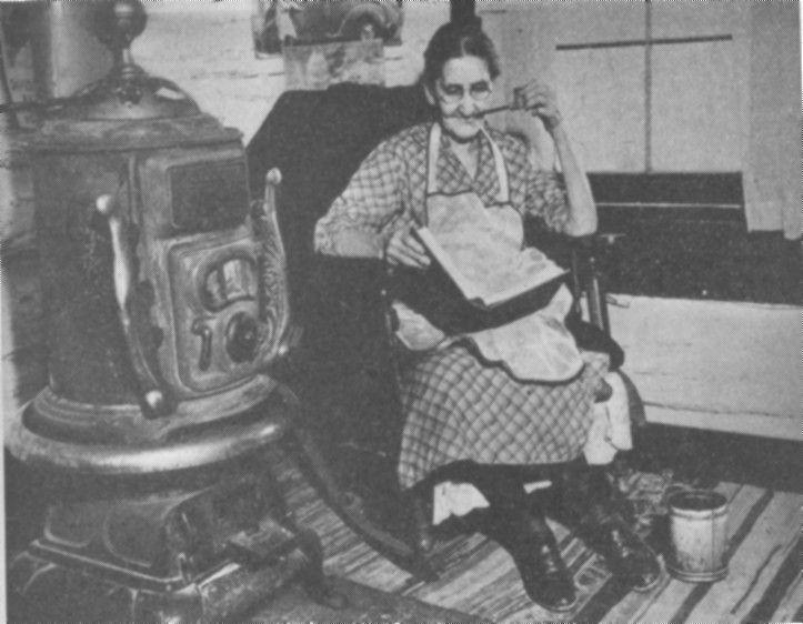 Kentucky mountain woman