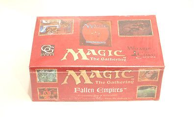 MTG Sealed Booster Packs 19109: Magic The Gathering Fallen Empire Booster Box -Factory Sealed- -> BUY IT NOW ONLY: $105 on eBay!