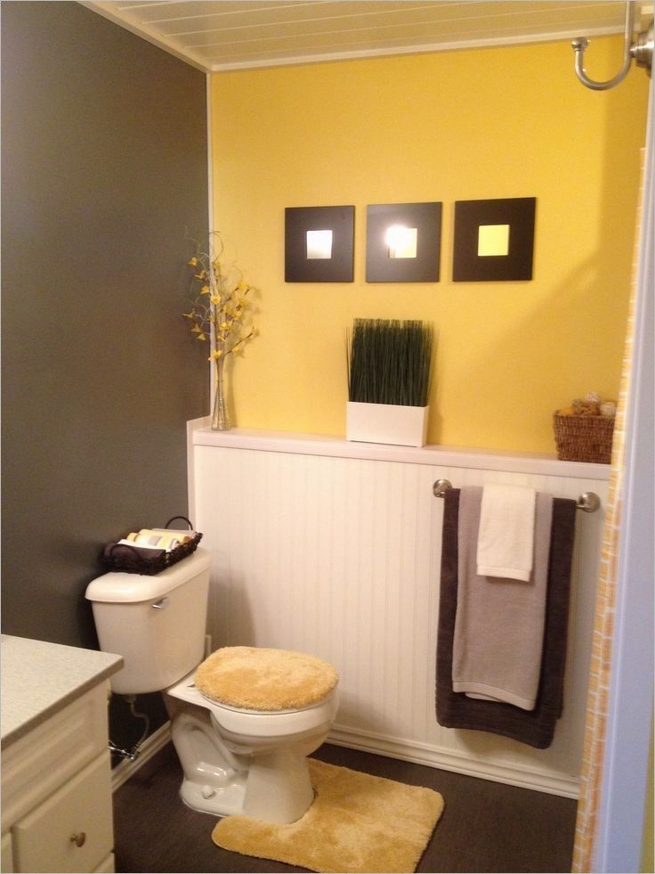 Bathroom Accessories Decorating Ideas Yellow Bathroom Decor