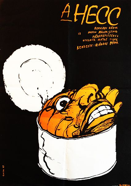 Krzysztof Ducki, The Mock Hungarian movie poster.