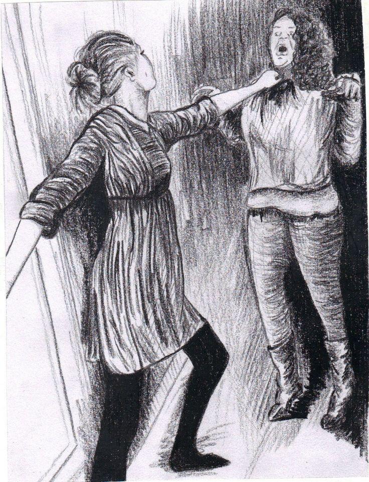 Daumier experiment chinagraph http://jennycarsonpaul.blogspot.co.uk