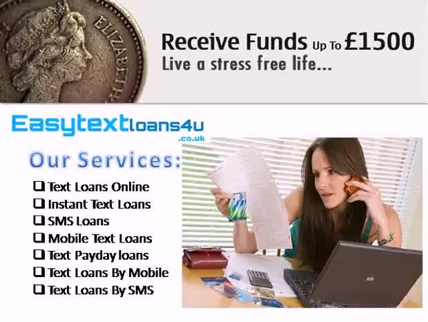 instant mobile text loans