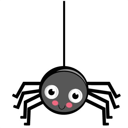 25 best cutie spidies images on pinterest fall season rh pinterest com cute spider clip art free cute halloween spider clipart