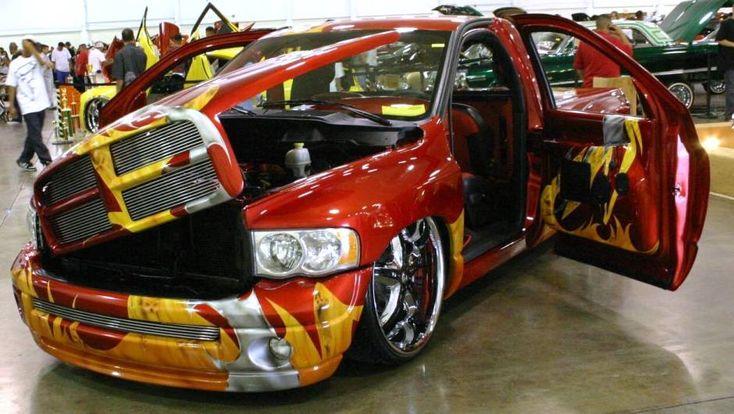 Nice custom job! Custom 2005 Dodge Ram 1500 Pickup www ...