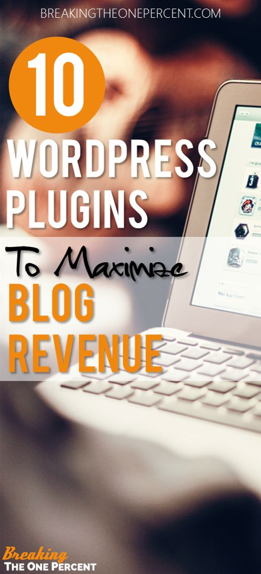 Want to know how to make money blogging? Having these 10 plugins is a great first step. So helpful for monetizing your blog!