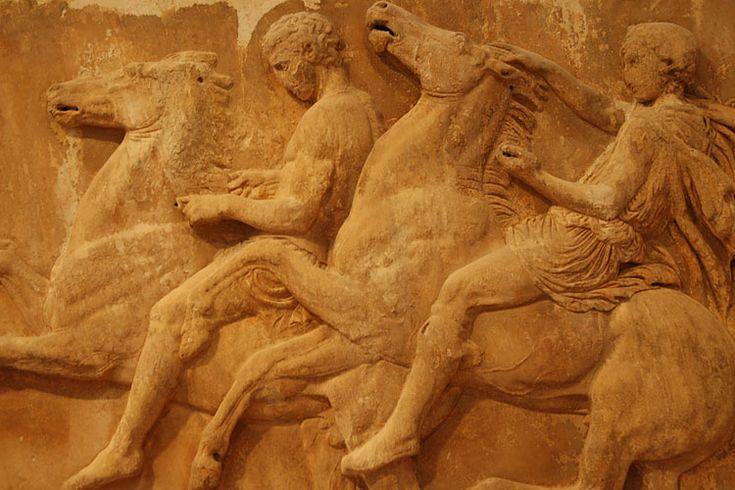 Acropolis museum exhibit