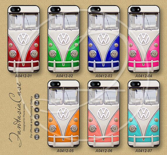 iPhone 5 case, iPhone 5C Case, iPhone 5S case, iPhone 4S Case, vw mini bus, Phone Cases, Samsung Galaxy S3, Samsung Galaxy S4, FA0412 on Etsy, $8.99