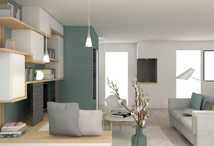les 17 meilleures images du tableau bureau en coffrage sur pinterest lyon coffrage et id es. Black Bedroom Furniture Sets. Home Design Ideas