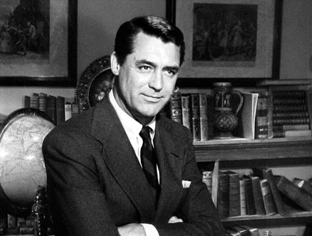 """Cary Grant in """"The Bishop's Wife"""" He is the Angel of course. A holiday classic!"""