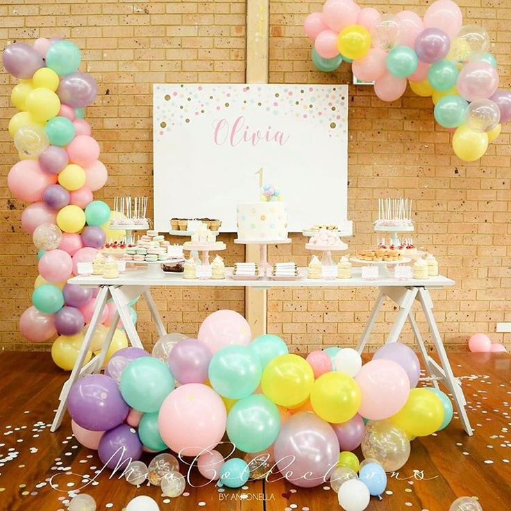 Image result for confetti themed 1st birthday