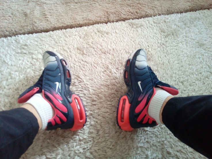 Nike Air Max TN Militare Rosse Bianche Trainers