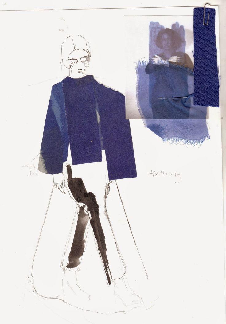 Fashion Design Sketchbook - fashion drawing, research & development; fashion portfolio // Alexandra Baldwin