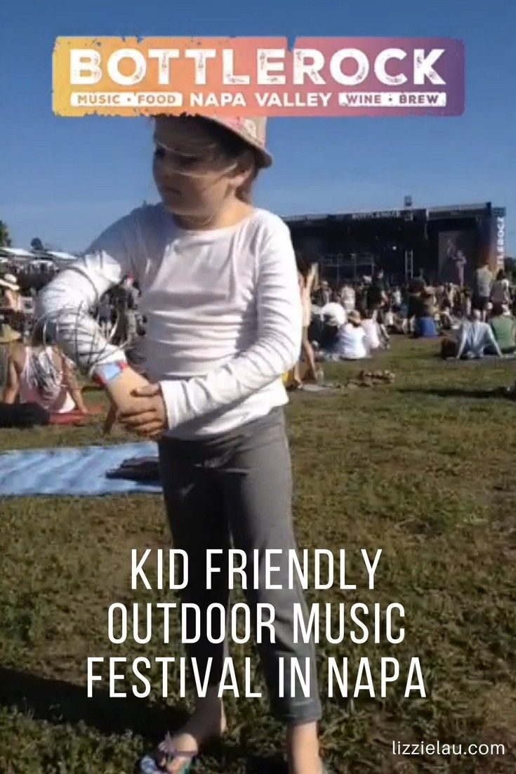 BottleRock Napa Valley is a fun, kid friendly outdoor music festival in Napa. #travel #familytravel #napa #california