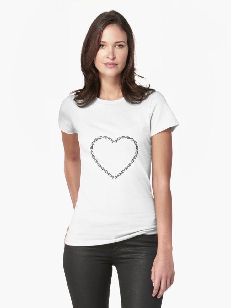DNA heart tshirt  http://ift.tt/2pYapTk