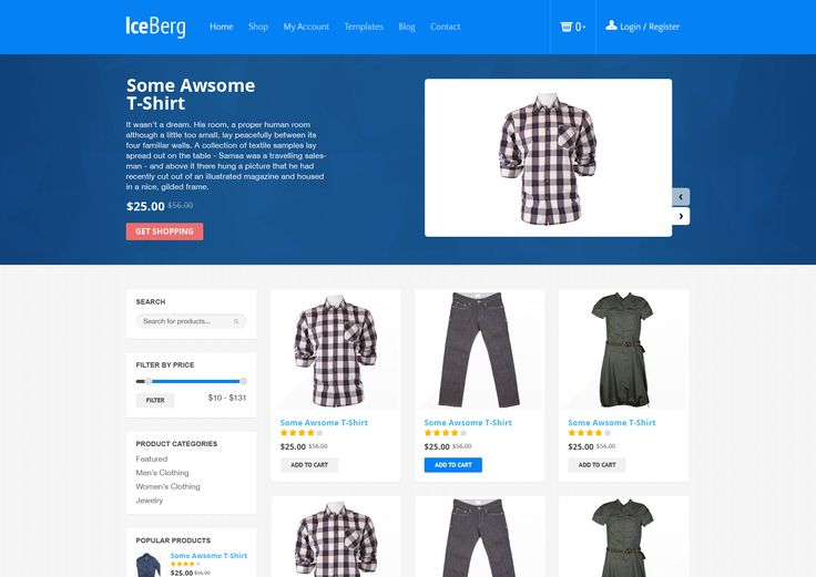 Material eCommerce