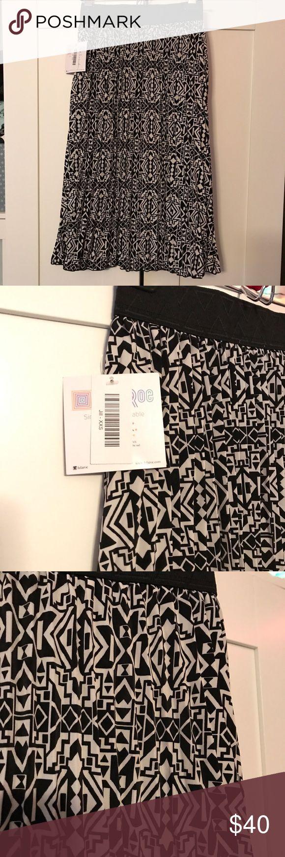 BNWT Lularoe Jill Skirt XXS Lularoe Jill Skirt... I love this skirt so much, it's just too small for me :( LuLaRoe Skirts Midi