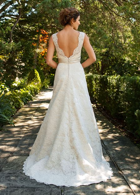 Lea-Ann Belter Bridal - Greydon Hall Collection - Janelle from the back