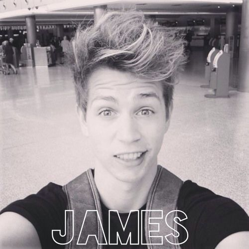 James from the vamps. The vamps are awesome,,they rock!!!!
