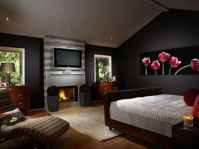 Charcoal Grey Bedroom