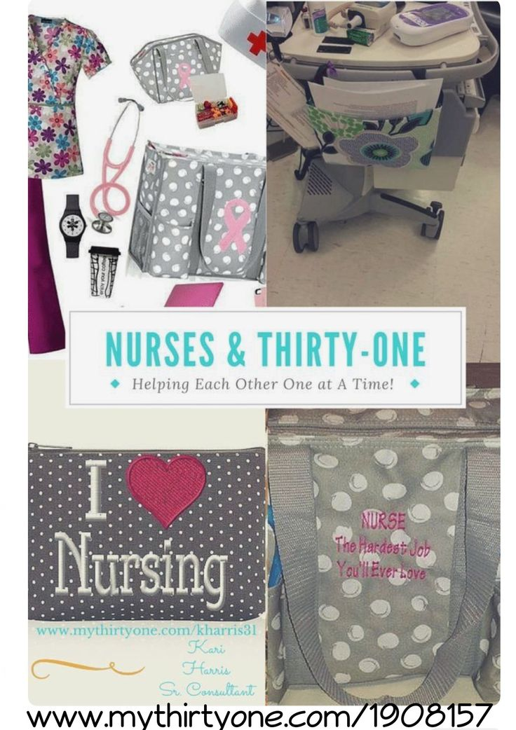 So many cute & practical items for Nurses! 💕 10% off for Nurses at www.mythirtyone.com/1908157 - Message me on FACEBOOK (Sheena Chadderton) to place your order & receive your discount