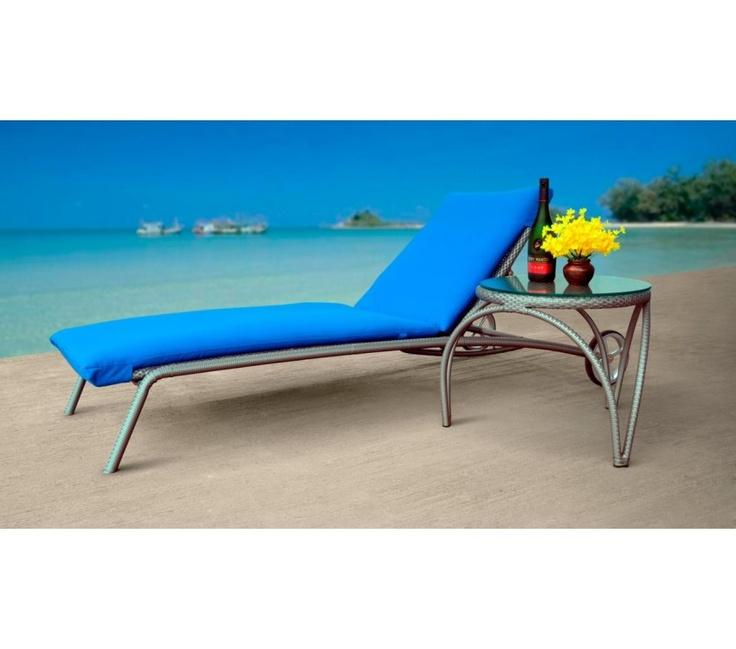 $799 Mykonos Lounger & Side Table